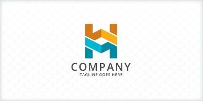 Letters WM / MW Logo