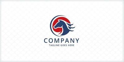 Stallion - Horse Logo