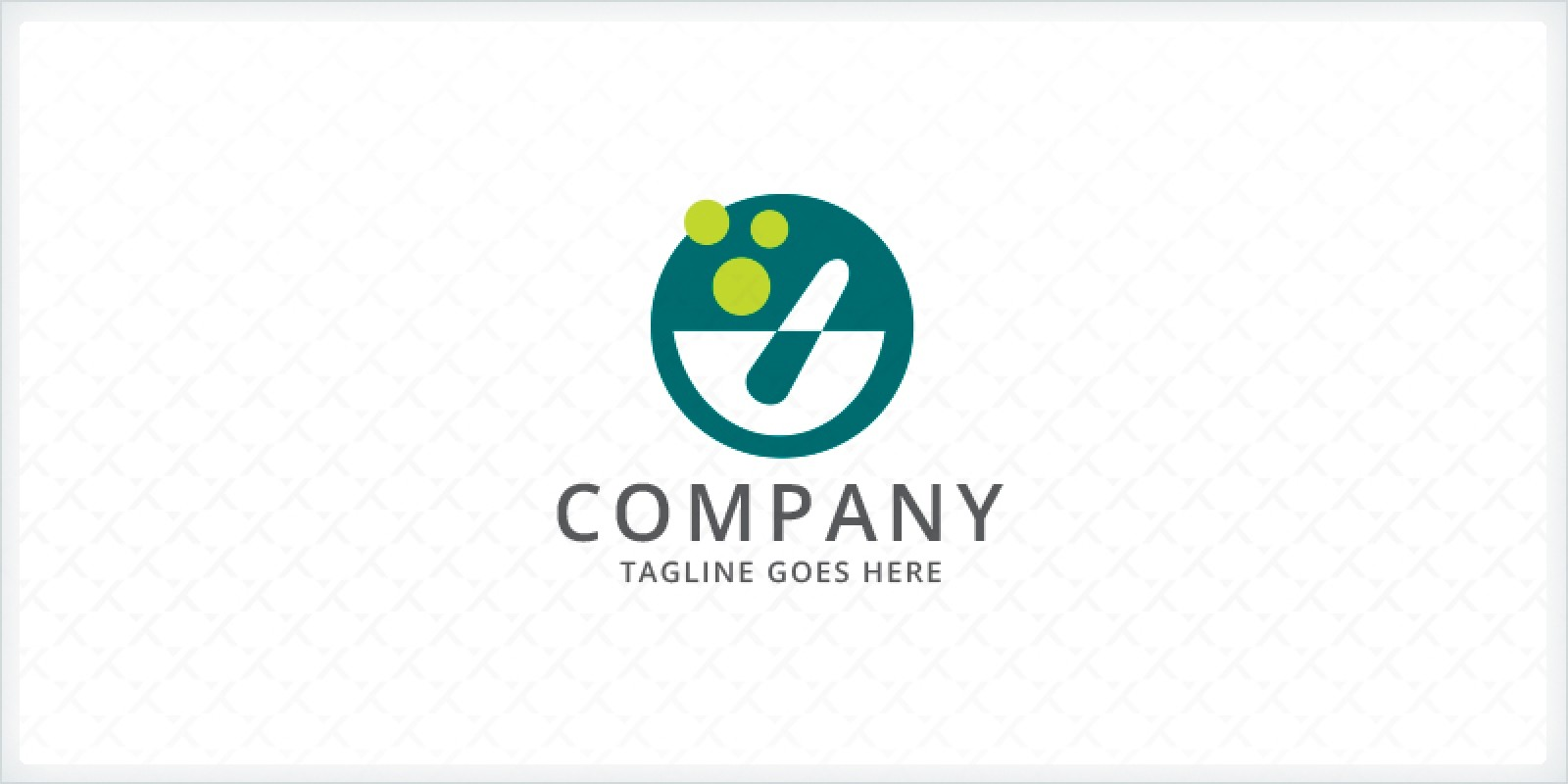 Pharmacy - Mortar and Pestle Logo