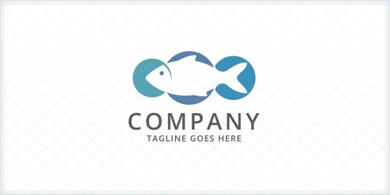 Fish Bubbles Logo