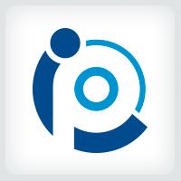 Letters IP PI Logo