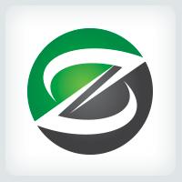 Circle Letter Z Logo
