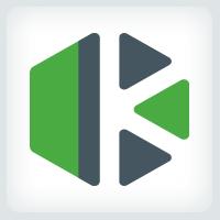 Letter K Hexagon Logo