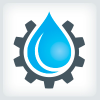 water-droplet-and-gear-plumbing-logo