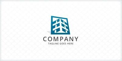 Building Structure - Construction Logo