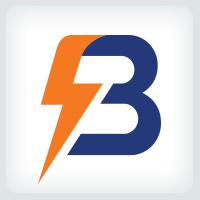 Letter B - Bolt Logo