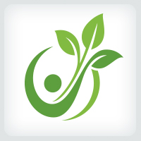 Leaves - People Logo
