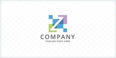 Pixelate - Letter Z logo