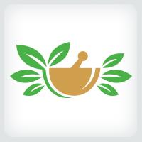 Mortar and Pestle - Pharmacy Logo