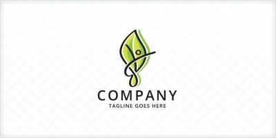 People Leaf Logo