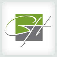 Letters GH Signature Logo