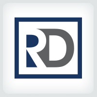Letters RD Logo