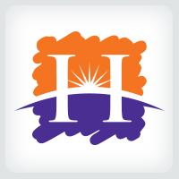 Letter H - Horizon Logo