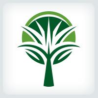 Stylized Tree Logo