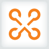 connecting-dots-letter-x-logo