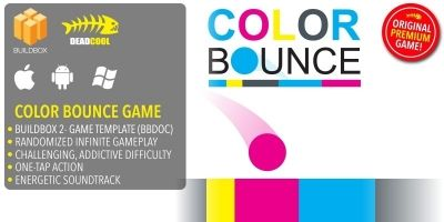 Color Bounce - BuildBox Game Template