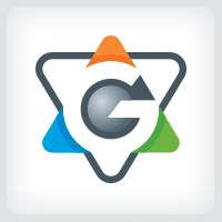 Letter G - Billiard Logo