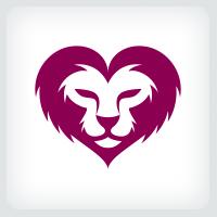 Lion Heart Logo