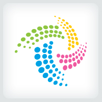 Colorful Dots Logo