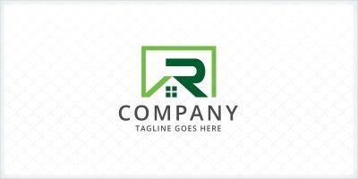 Letter R - Home Logo