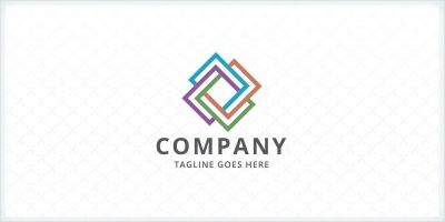 Geometric Rectangle Logo