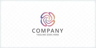 Rose - Flower Logo
