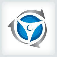 Spinning Propeller Logo