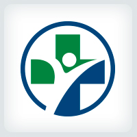 Medical Cross People Logo