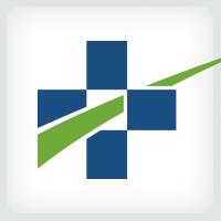 Medical Cross Path Logo