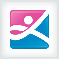 People Ribbon Logo