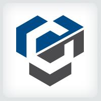 Hexagon Arrow Logo
