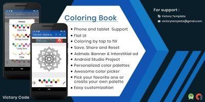 Color Book - Mandala App Template