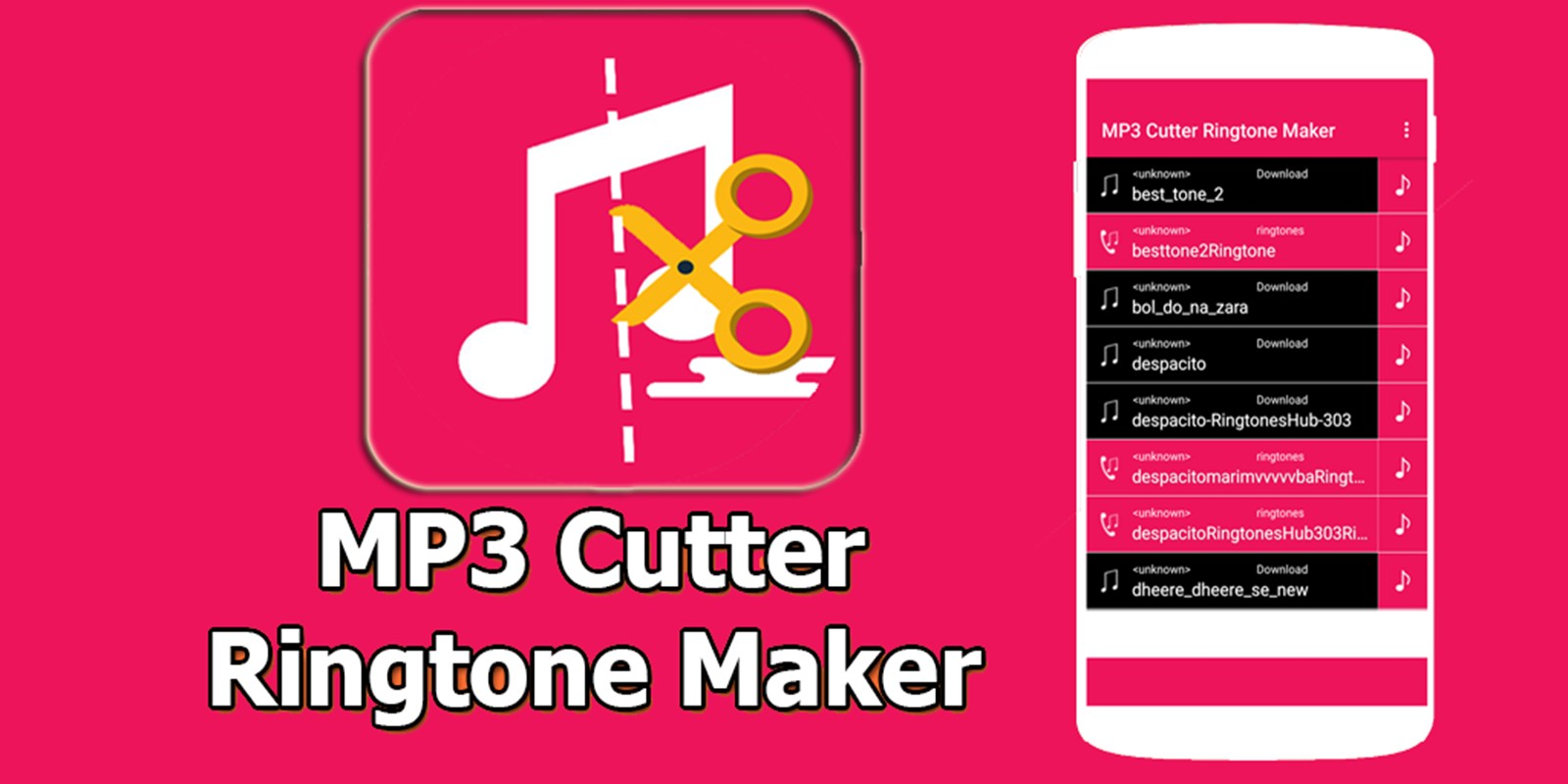MP3 Cutter Ringtone Maker Android