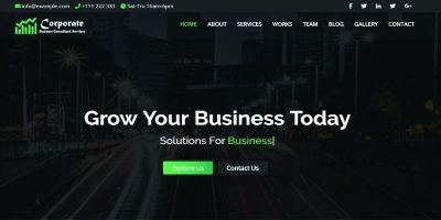 Corporate - Business and Portfolio Template