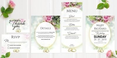 Wedding Invitation LOVE SUITE