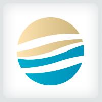 Ocean Sunset Logo