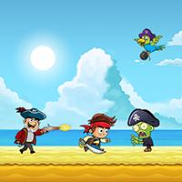 Pirate Run Away Unity Source Code