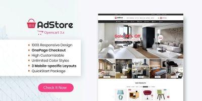 Adstore - Multipurpose Opencart 3 Theme