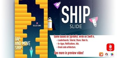 Ship Slide iOS Source Code
