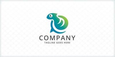 Chat - Chameleon Logo