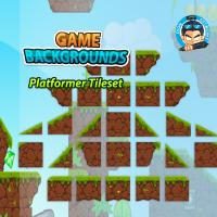 Game BG Plat former Tile-sets 02
