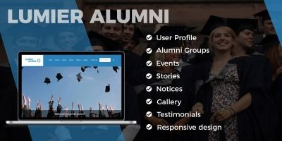 Lumier Alumni - Laravel Application