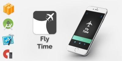 Fly Time - Buildbox Game