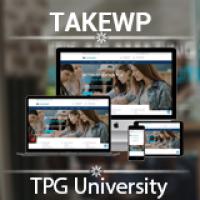 TPG University – Education WordPress theme