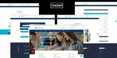 TPG University – Education WordPress theme