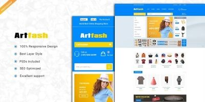 Artfash - Responsive PrestaShop Theme