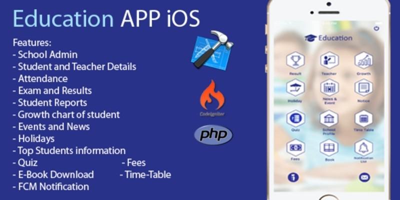 Education App - iOS Source Code