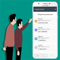 Ionic 4 Crypto Cryptocurrency App