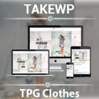 TPG Clothes WordPress Theme