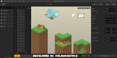 Isometric Food Drop - Buildbox Template
